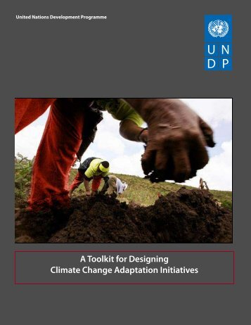 A Toolkit for Designing Climate Change Adaptation Initiatives