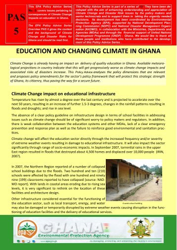 PAS 5 Education.pdf - Africa Adaptation Programme