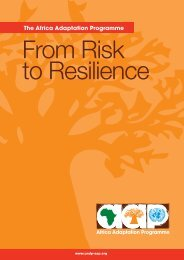 From risk to resilience hi-res.pdf - Africa Adaptation Programme