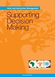 Supporting decision making hi-res.pdf - Africa Adaptation Programme