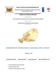Etude_Scenarios_CC_dec 2011.pdf - Africa Adaptation Programme