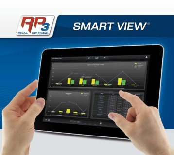 HP3 Smart Wew'° C' - RP3 Retail Software