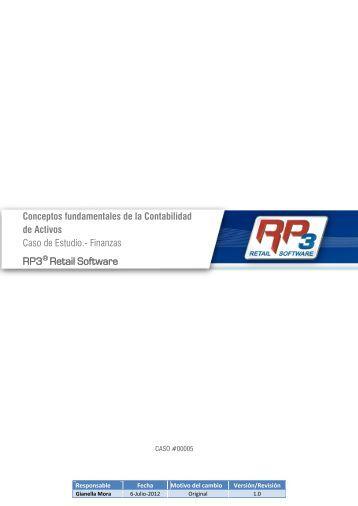 5. Conceptos fundamentales de la contabilidad de activos