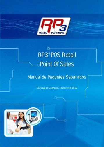Paquetes Separados - RP3 Retail Software