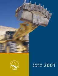 2001 - The Ontario Aggregate Resources Corporation