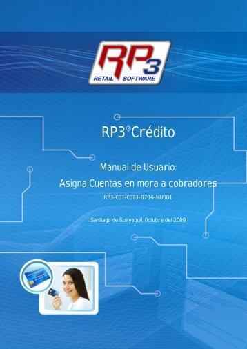 Asigna Cuentas en Mora a Cobradores - RP3 Retail Software