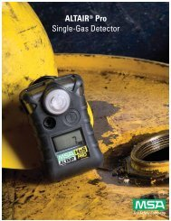 ALTAIR® Pro Single-Gas Detector