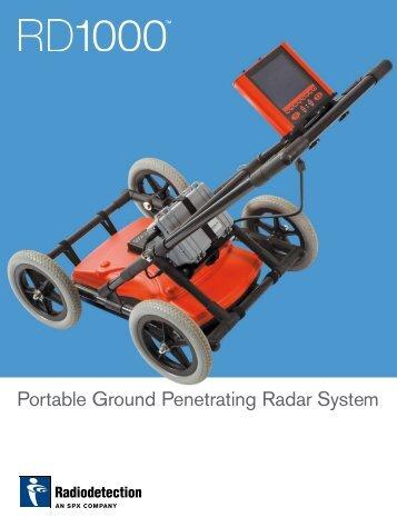 Portable Ground Penetrating Radar System