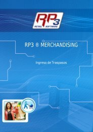 Ingreso de Traspasos - RP3 Retail Software
