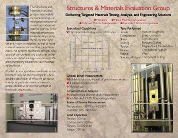 MTE Brochure - University of Dayton Research Institute