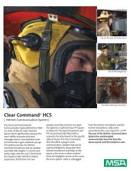 Clear Command Helmet Communication System