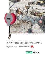 Aptura LT30 Self-Retracting Lanyard - Gravitec Systems