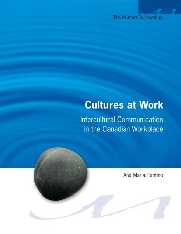 Cultures at Work: Intercultural Communication in the Canadian ...