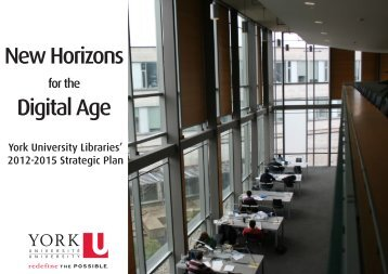 Strategic Plan - York University Libraries