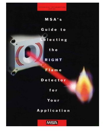 Applications Guide to Flame Detection - Vci-analytical.com