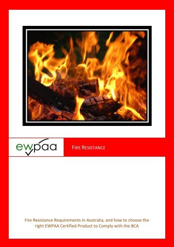 Fire Resistance - Engineered Wood Products Association of ...