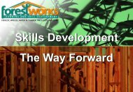 New Training Opportunities and Pathways