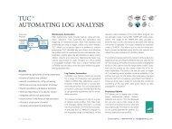 Log Processing - Enterprise Systems Associates, Inc.
