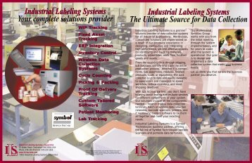 Industrial Labeling Systems The Ultimate Source for Data Collection ...