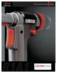 Pneumatic Riveter R1A1 - Core Tool Technologies