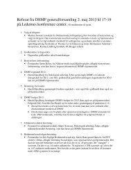 Referat fra generalforsamlingen