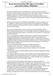 Bestyrelsens beretning 2001 - Dansk Selskab for Medicinsk Fysik