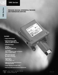 Temperature Switch Manual - Gas Equipment Company, Inc.