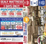 PRe 4th of JulYPRe 4th of JulY - Levin Furniture