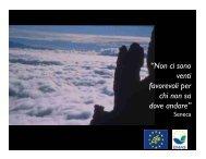 AgEmas: gli obiettivi strategici - Parco Nazionale Dolomiti Bellunesi