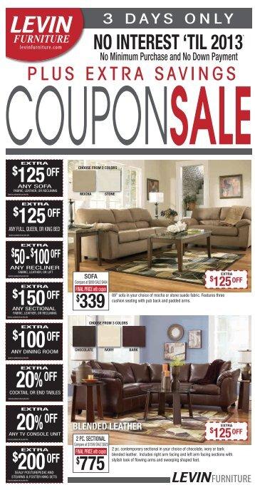 20%OFF - Levin Furniture