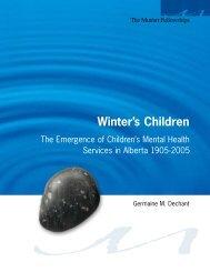 Winter's Children - The Muttart Foundation