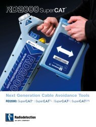 Next Generation Cable Avoidance Tools