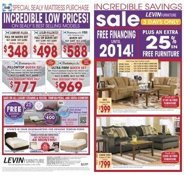 FREE FURNITURE - Levin Furniture