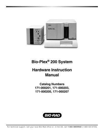 Bio-Plex® 200 System Hardware Instruction Manual