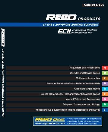 L 500 LP-Gas & Anhydrous Ammonia Equipment Catalog
