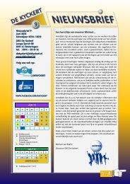 Nieuwsbrief 9 14 15