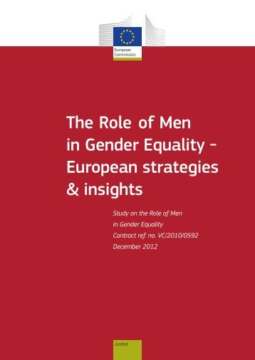 The role of men in gender equality - European Commission - Europa