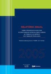 Relatório – Ano de 2005 - Cite