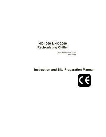 Hx Chiller 300 Wiring Diagram - Schematics Wiring Diagrams •