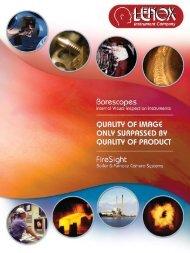 Corporate Brochure - Lenox Instrument Company