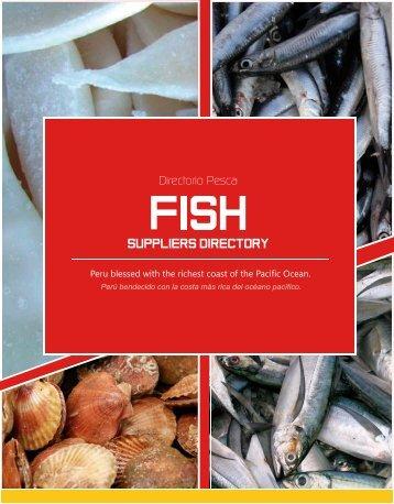 Fish Section - ExporPerú - Peruvian Suppliers Directory 2015