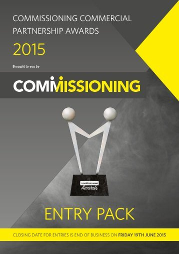Commissioning-Commercial-Partnership-Awards-2015