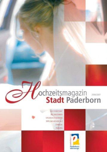 Countdown bis zur Hochzeit - Hochzeitsmagazin Paderborn