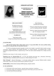 KONKURS PLASTYCZNY ŚWIĘTA FAUSTYNA ... - plastyklodz.pl