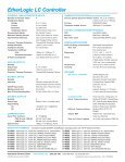 EtherLogic LC.pmd - Industrial Control Links - Page 2