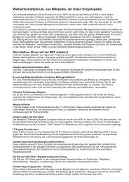 WEF - Allgemeinbildung-online.ch