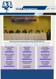 ULS Newsletter - Uganda Law Society