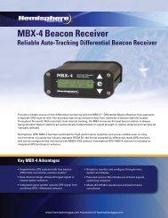 MBX-4 Beacon Receiver - Canal Geomatics