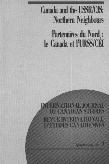 exchange program - Conseil international d'études canadiennes