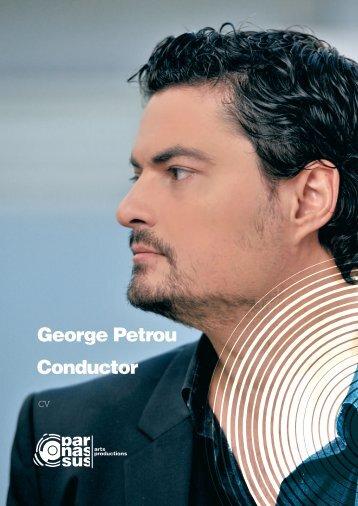 George Petrou Conductor - parnassus.at